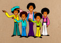 Animation Art:Production Cel, The Jackson Five Michael Jackson Production Cel(Rankin-Bass, c. 1972)....