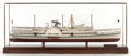 Paintings, A SCALE SHIP MODEL OF THE HUDSON RIVER DAYLINER NEW YORK . Modern. 15-3/4 x 39 x 12-1/4 inches (40.0 x 99.1 x 31.1 c...