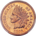 Proof Indian Cents, 1868 1C PR65 Red PCGS....