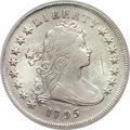 Early Dollars, 1795 $1 Draped Bust, Centered -- Cleaning -- PCGS Genuine. XFDetails. B-15, BB-52, R.2....
