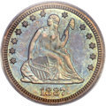 Proof Seated Quarters, 1887 25C PR66 PCGS....