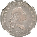 Early Half Dollars, 1795 50C 2 Leaves VF25 NGC. O-102, R.4....