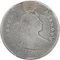 Early Quarters, 1796 25C -- Holed and Plugged -- Genuine PCGS. B-2, R.3....