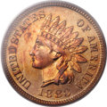 Proof Indian Cents, 1883 1C PR66 Red PCGS....