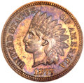 Proof Indian Cents, 1877 1C PR65 Red and Brown NGC....