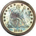 Proof Seated Quarters, 1882 25C PR66 PCGS....