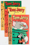 Golden Age (1938-1955):Cartoon Character, Tom and Jerry Group (Dell, 1954) Condition: Average VF/NM....(Total: 8 Comic Books)