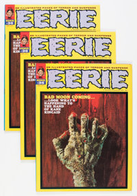 Eerie #36 Group (Warren, 1971) Condition: Average VF/NM.... (Total: 3 Comic Books)