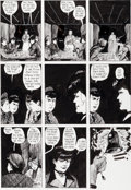 """Original Comic Art:Panel Pages, Eddie Campbell Taboo #4 """"From Hell"""" Chapter 3 Page 14Original Art (Spiderbaby Grafix, 1990)...."""