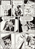 """Original Comic Art:Panel Pages, Al Wenzel The Spirit """"The Incident of the Sitting Duck"""" Page 5 Original Art dated 5-11-52 (Will Eisner, 1952)...."""