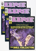 Magazines:Horror, Eerie #15 Group (Warren, 1968) Condition: Average NM-.... (Total: 3 Comic Books)