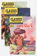 Golden Age (1938-1955):Classics Illustrated, Classics Illustrated First Editions Group (Gilberton, 1951-57)Condition: Average VG/FN.... (Total: 14 Comic Books)