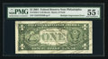 Fr. 1926-C $1 2001 Federal Reserve Note. PMG About Uncirculated 55 EPQ