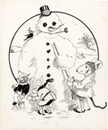 Animation Art:Production Drawing, Tom McKimson Mouse Tales Illustration Original Art (1920s).... (Total: 2 Items)