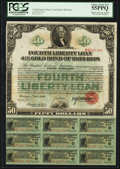 Miscellaneous:Other, $50 Fourth Liberty Loan 4 1/4% October 24, 1918 Gold Bond of 1933 -1938.. ...