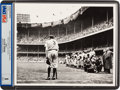 "Baseball Collectibles:Photos, 1948 ""The Babe Bows Out"" Pulitzer Prize-Winning Photograph,Signed by Nat Fein...."