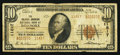 National Bank Notes:Virginia, Roanoke, VA - $10 1929 Ty. 2 The Colonial-American NB Ch. # 11817....