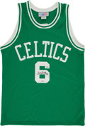 Basketball Collectibles:Uniforms, Bill Russell Signed Boston Celtics Jersey. ...