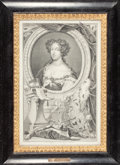Paintings, GROUP OF FOUR ENGLISH, DUTCH AND FRENCH PORTRAITS. 17th and 18th century. Engravings and mezzotint. 15 x 11 inches (38.1 x 2... (Total: 4 Items)