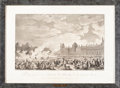 Fine Art - Work on Paper:Print, SUITE OF FOUR FRENCH REVOLUTIONARY AND NAPOLEONIC THEMED PRINTS. Circa 1810. Engravings. 16-1/2 x 22 inches (41.9 x 55.9 cm)... (Total: 4 Items)