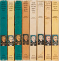 Books:Children's Books, Victor Appleton II. Eight Tom Swift Novels in Pictorial Boards.Good or better....