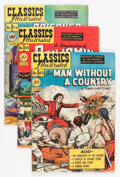 Golden Age (1938-1955):Classics Illustrated, Classics Illustrated First Editions Group (Gilberton, 1949-54)Condition: Average VG-.... (Total: 16 Comic Books)