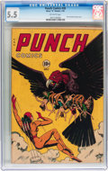 Golden Age (1938-1955):Superhero, Punch Comics #20 (Chesler, 1947) CGC FN- 5.5 Off-white pages....