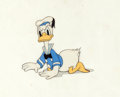 Animation Art:Production Cel, Clock Cleaners Donald Duck Production Cel (Walt Disney,1937)....