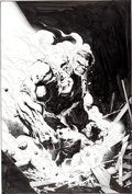 Original Comic Art:Covers, Jim Cheung and John Dell Hulk Unchained #3 Cover OriginalArt (Marvel, 2004)....