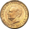 Commemorative Gold, 1917 G$1 McKinley MS67 PCGS....