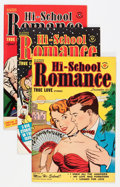 Golden Age (1938-1955):Romance, Hi-School Romance File Copy Group (Harvey, 1950-58) Condition:Average VF-.... (Total: 72 Comic Books)
