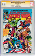 Modern Age (1980-Present):Superhero, Marvel Super Heroes Secret Wars #1 Signature Series (Marvel, 1984)CGC NM/MT 9.8 White pages....