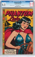 Golden Age (1938-1955):Crime, Phantom Lady #14 (Fox Features Syndicate, 1947) CGC FN+ 6.5 Off-white to white pages....