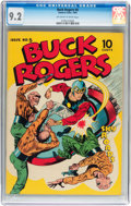 Golden Age (1938-1955):Science Fiction, Buck Rogers #5 (Eastern Color, 1943) CGC NM- 9.2 Off-white to white pages....