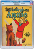 Platinum Age (1897-1937):Miscellaneous, Feature Books #7 Little Orphan Annie - Mile High pedigree (DavidMcKay Publications, 1937) CGC NM- 9.2 Off-white to white page...
