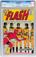 Silver Age (1956-1969):Superhero, The Flash #105 (DC, 1959) CGC FN/VF 7.0 Off-white pages....