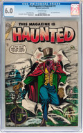 Golden Age (1938-1955):Horror, This Magazine Is Haunted #19 (Charlton, 1954) CGC FN 6.0 Off-whitepages....