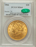 Liberty Double Eagles: , 1904 $20 MS64 PCGS. CAC. PCGS Population (30379/4300). NGC Census:(33565/6621). Mintage: 6,256,797. Numismedia Wsl. Price ...