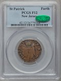 (1670-75) FARTH St. Patrick Farthing Fine 12 PCGS. CAC. Breen-211....(PCGS# 42)