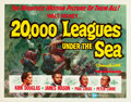 "Movie Posters:Science Fiction, 20,000 Leagues Under the Sea (Buena Vista, 1954). Half Sheet (22"" X28"").. ..."