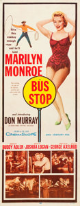 "Movie Posters:Drama, Bus Stop (20th Century Fox, 1956). Insert (14"" X 36"").. ..."