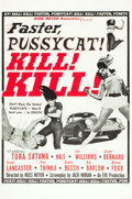 "Movie Posters:Sexploitation, Faster, Pussycat! Kill! Kill! (Eve Productions, 1965). One Sheet(27"" X 41"") Style B.. ..."