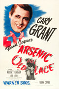 """Movie Posters:Comedy, Arsenic and Old Lace (Warner Brothers, 1944). One Sheet (27"""" X 41"""").. ..."""