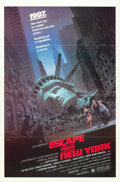 "Movie Posters:Science Fiction, Escape from New York (Avco Embassy, 1981). One Sheet (27"" X 41"").. ..."
