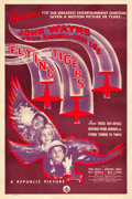 "Movie Posters:War, Flying Tigers (Republic, 1942). One Sheet (27"" X 41"") Style B.. ..."