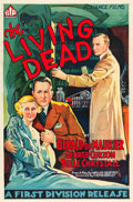"Movie Posters:Horror, The Living Dead (British International Pictures, 1933). One Sheet(27"" X 41"").. ..."