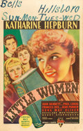 "Movie Posters:Drama, Little Women (RKO, 1933). Window Card (14"" X 22"").. ..."