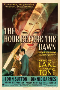"""The Hour Before the Dawn (Paramount, 1944). One Sheet (27"""" X 41"""") Style A"""