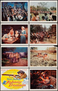 "Movie Posters:Adventure, Johnny Tremain (Buena Vista, 1957). Lobby Card Set of 8 (11"" X14""). Adventure.. ... (Total: 8 Items)"