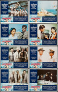 """Movie Posters:War, Midway (Universal, 1976). Lobby Card Set of 8 (11"""" X 14""""). War..... (Total: 8 Items)"""